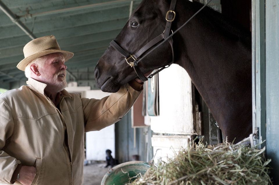 "Nick Nolte in ""Luck"" - HBO Photo"