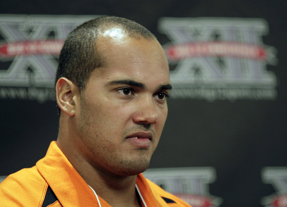 The charges against OSU defensive end Jamie Blatnick were reduced to a misdemeanor on Friday. AP PHOTO
