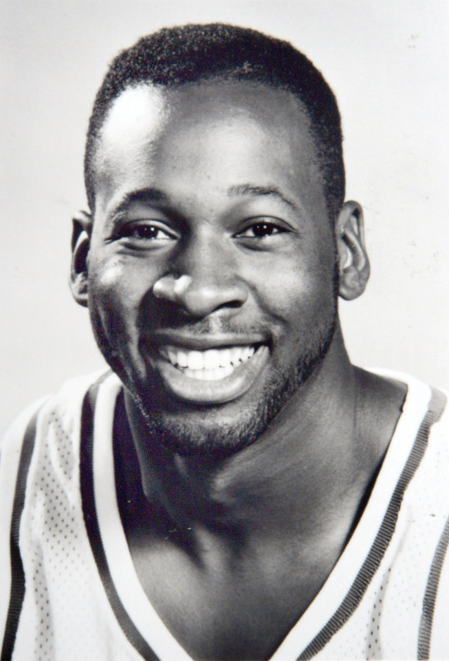 Photo - Former OU basketball player Wayman Tisdale. Photo provided. Photo taken unknown, Photo published 4/23/1993 in The Daily Oklahoman. ORG XMIT: KOD
