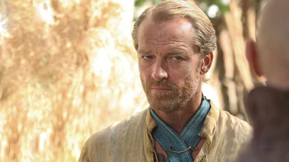 Photo -  Jorah Mormont, Dany's loverboy.