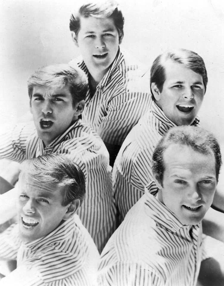 Photo - The Aug. 25, 1964, edition of The Oklahoman included a story about the Beach Boys' scheduled performance the following weekend at Springlake Amusement Park in Oklahoma City. AP FILE PHOTO  PROVIDED