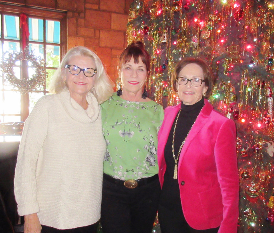 Photo - Marsha See, Julie Coyle, Linda James. HELEN FORD WALLACE PHOTO, THE OKLAHOMAN