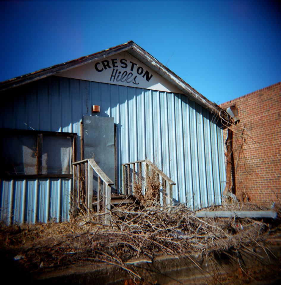 An old building is  pictured in the 1700 block of Martin Luther King Avenue in Oklahoma City, Okla., Sunday, Jan. 10, 2010. Photo by Sarah Phipps, The Oklahoman