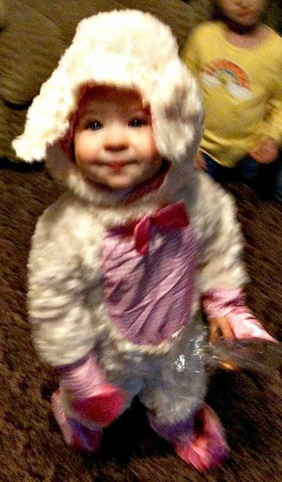 Crosby Broome Lamb Halloween costume