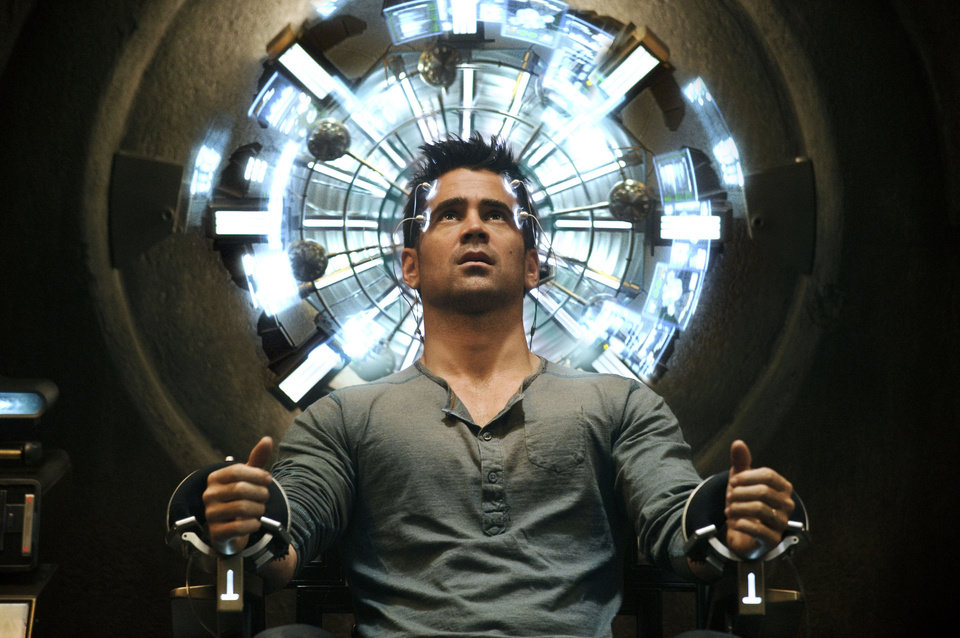 Photo - Colin Farrell as Quaid in a scene from