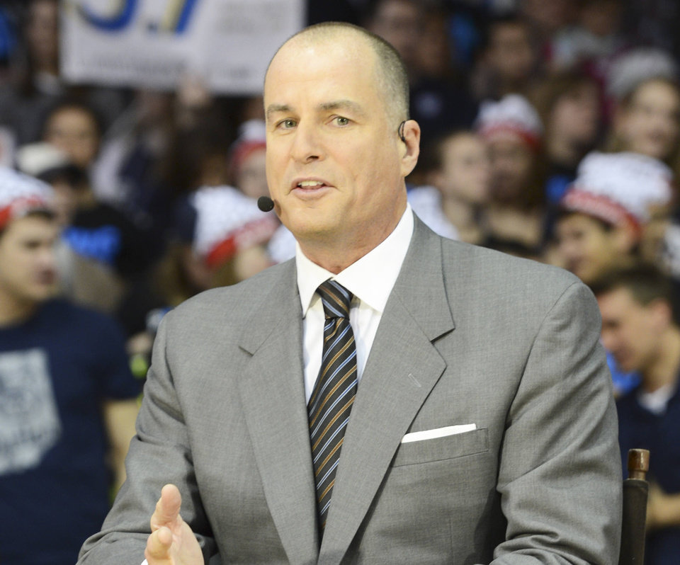 Jay Bilas will offer analysis of the NBA Draft on Thursday night. Photo by ESPN Images Allen Kee - Allen Kee