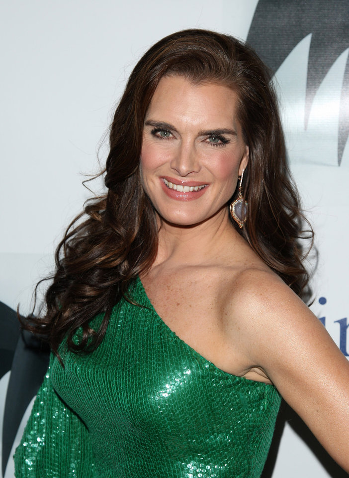 Actress Brooke Shields attends the 45th annual National Magazine Awards in New York, on Thursday, April 22, 2010. (AP Photo/Peter Kramer) ORG XMIT: NYPK106