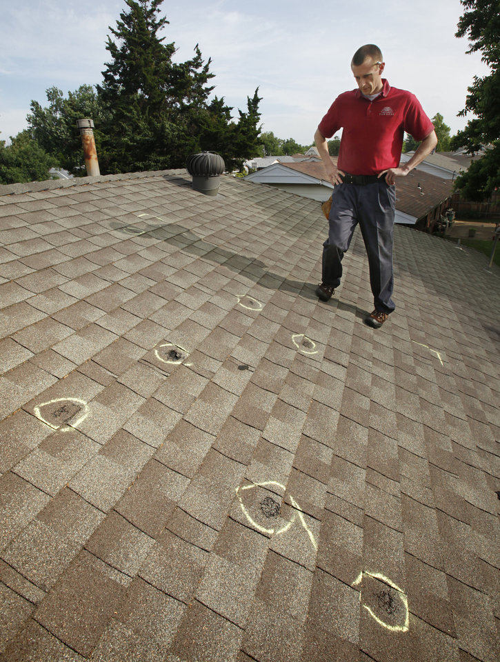 Oklahoma City Hail Victims Have Roofing Materials Choices