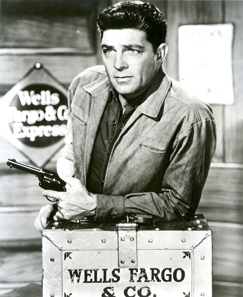 Dale Robertson as Jim Hardie in the 1950s TV series