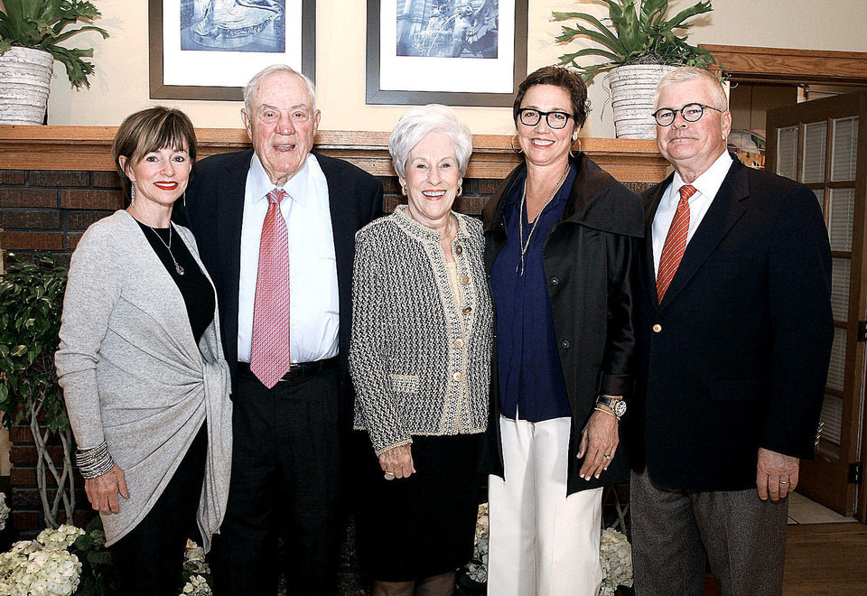 Photo - Laurie Givens, Bob and Nancy Ellis, Leigh Ann and Paul Albers. PHOTOS BY DAVID FAYTINGER, FOR THE OKLAHOMAN