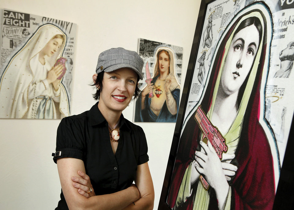 Photo - ARTWORK / ART EXHIBIT  EXHIBITION: Local artist Marilyn Artus will display her latest work this weekend at the a.k.a. gallery in the Paseo District. Her show is titled,