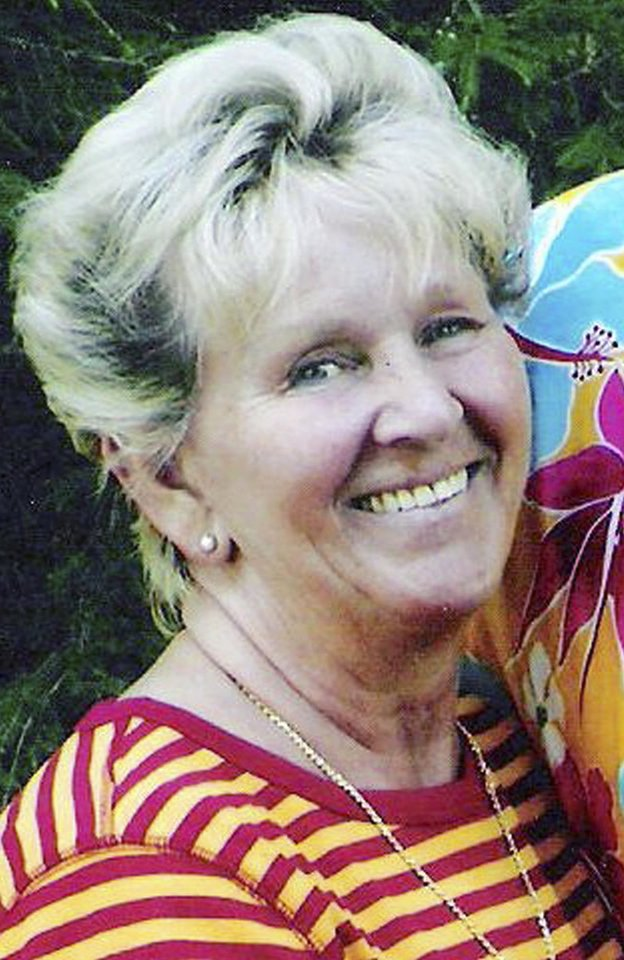 Photo - This undated photo provided by Melanie Bassi shows her grandmother, Linda McWilliams, who along with Bassi's parents, were killed in an auto accident on Christmas Day 2007, when a pickup truck driven by an impaired driver crashed into the back of the vehicle in which she was riding. Bassi, a 36-year-old math teacher from Fairfield, Conn., speaks to offenders and high school students as she campaigns against impaired driving.   (AP Photo/Courtesy of Melanie Bassi)