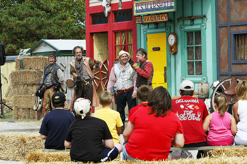 Photo - Centennial Frontier Experience at the Oklahoma State Fair. Provided ORG XMIT: KOD