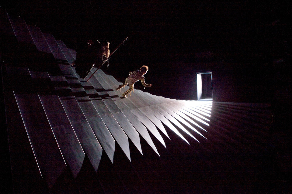 Photo -   This March 28, 2012 photo provided by the Metropolitan Opera shows a scene from Wagner's,