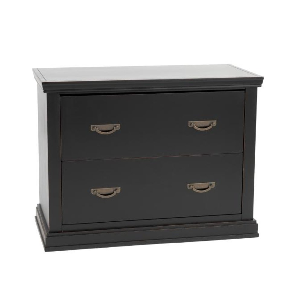 Photo -  The Bourdonnais File Cabinet can accommodate a hutch on top ($899, ballarddesigns.com). [BALLARD DESIGNS]