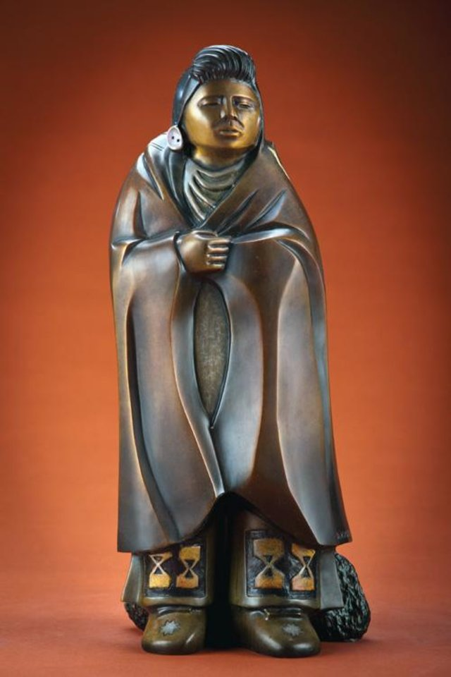 "Photo -  ""Young Joseph,"" bronze, $3,200, by Doug Hyde. Photo provided    Photo Provided"