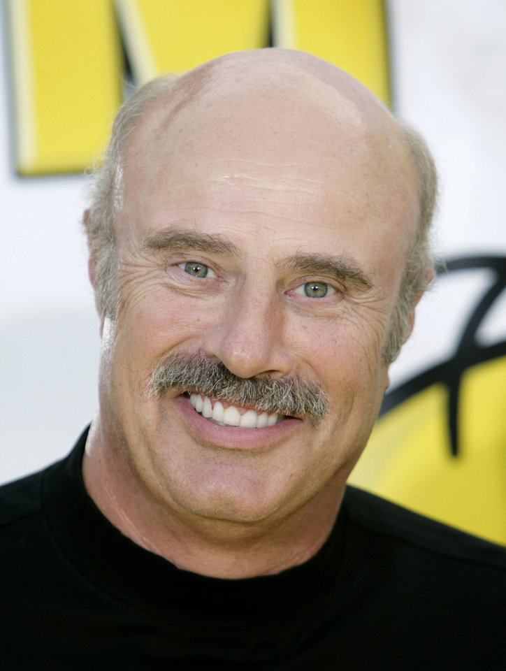 Television personality Dr. Phil McGraw  AP PHOTO <strong>Matt Sayles - AP</strong>