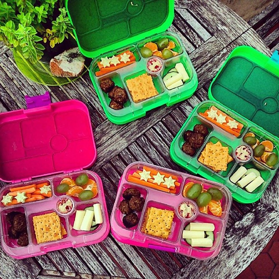 Photo - This undated photo provided by Daniela Devitt and posted in April 2014 to the Instagram account of her company, YUMBOX, shows a variety of her company's product. (AP Photo/Courtesy Daniela Devitt)