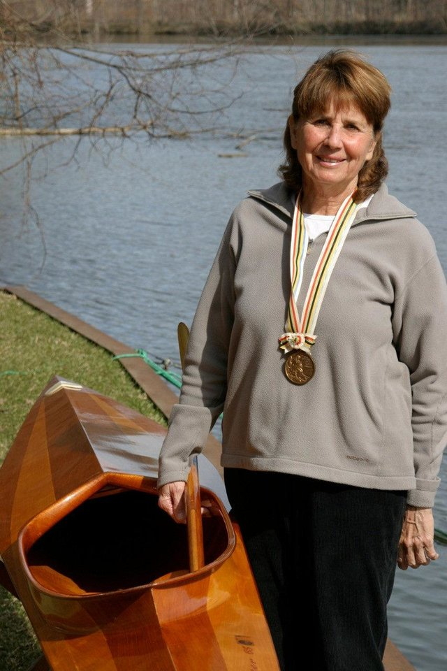Former Oklahoma City resident and Olympic kayaking bronze medalist Marcia Jones Smoke won 11 U.S. kayaking titles. Photo provided