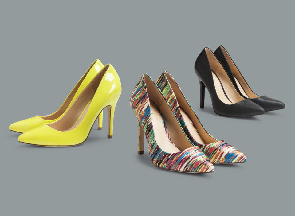Photo -  Shoes from the Prabal Garung limited-edition collection that lands in Target stores Feb. 10.