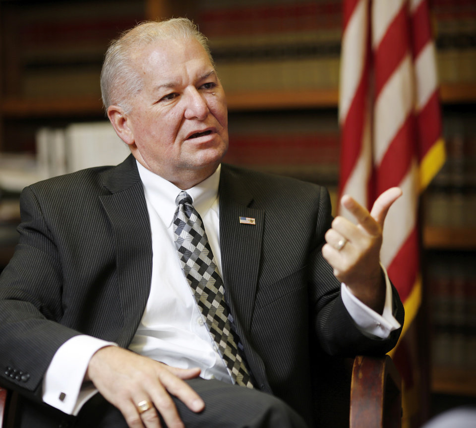 Photo -  Oklahoma County District Attorney David Prater   [Photo by Jim Beckel, The Oklahoman]