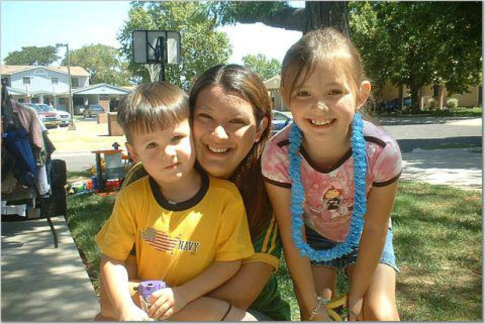 Dylan Thorson, left, Michelle Thorson, center, and Jourdain Thorson. PROVIDED BY MICHELLE THORSON.