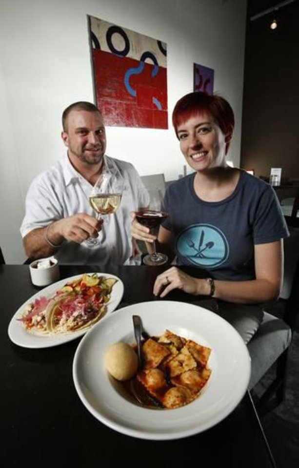Photo -  Ryan Parrott was the original executive chef for Local. Heather Steele is co-owner and catering manager.