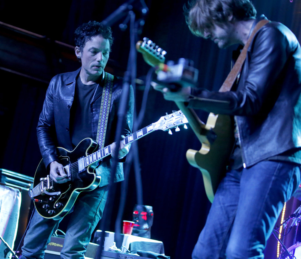 Photo -  Jakob Dylan and The Wallflowers perform Saturday during a concert at The Jones Assembly in Oklahoma City. [Photo by Bryan Terry, The Oklahoman]