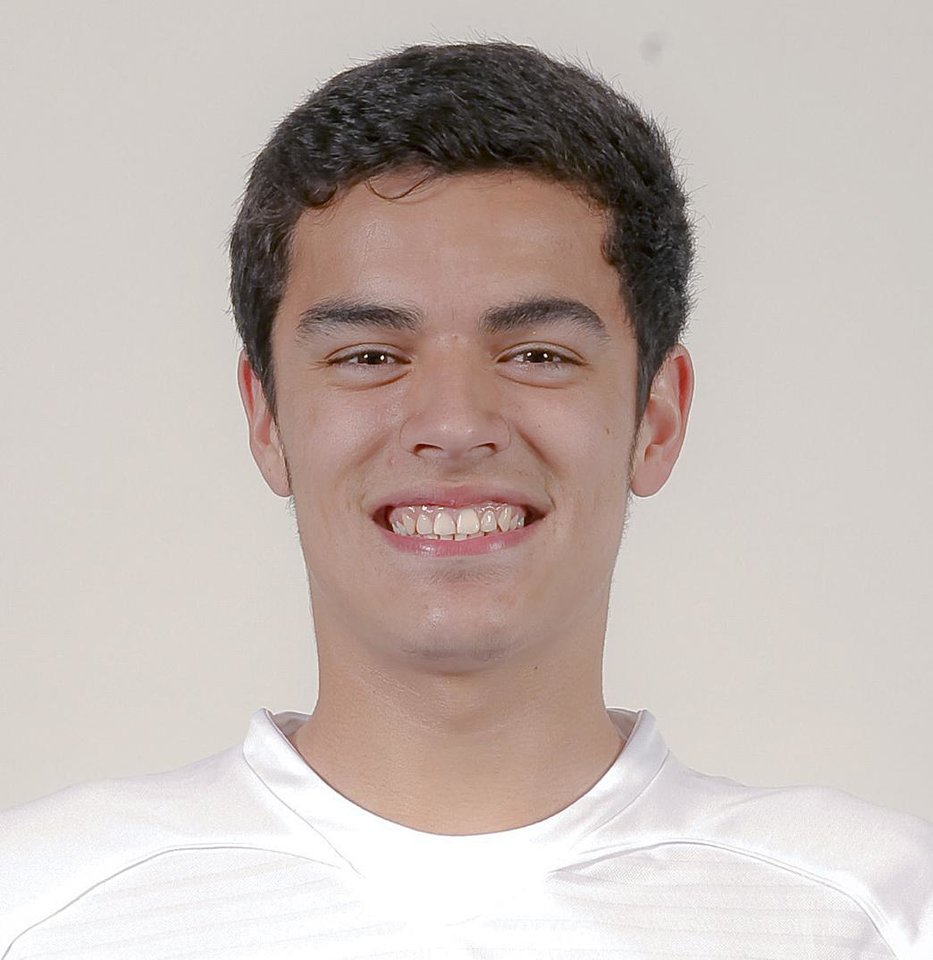 Photo - 2012 SPRING HIGH SCHOOL SPORTS MUG: Putnam North Anthony Hernandez on Wednesday, Feb. 15, 2012, in Oklahoma City, Okla. Photo by Chris Landsberger, The Oklahoman