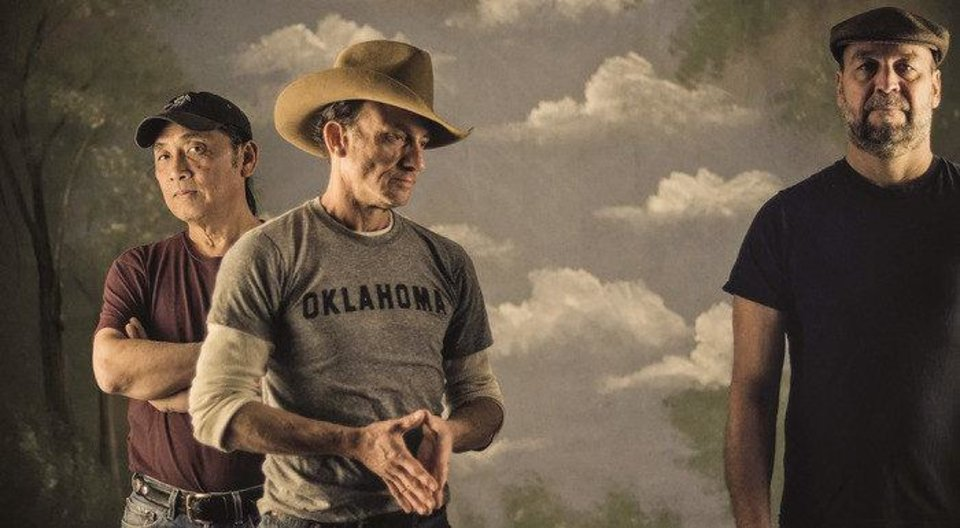 Photo - From left, Ben Han, Brad Piccolo and John Cooper are the Red Dirt Rangers. Photo provided.
