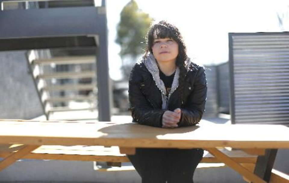 Oklahoma singer-songwriter Samantha Crain poses for a photo in Oklahoma City, Friday, Jan.. 18, 2013. Photo by Sarah Phipps, The Oklahoman