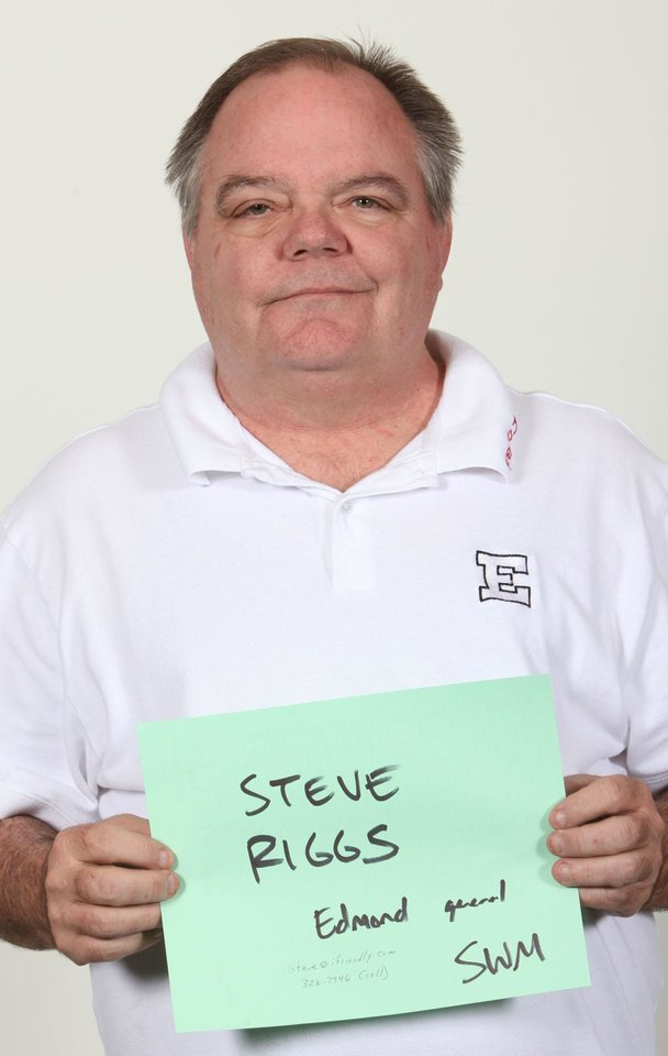 Photo - WINTER HIGH SCHOOL SPORTS: Mug shot of Steve Riggs, swim coach at Edmond High Schools. Photographed on Tuesday, Nov. 18, 2009. By John Clanton, The Oklahoman ORG XMIT: KOD