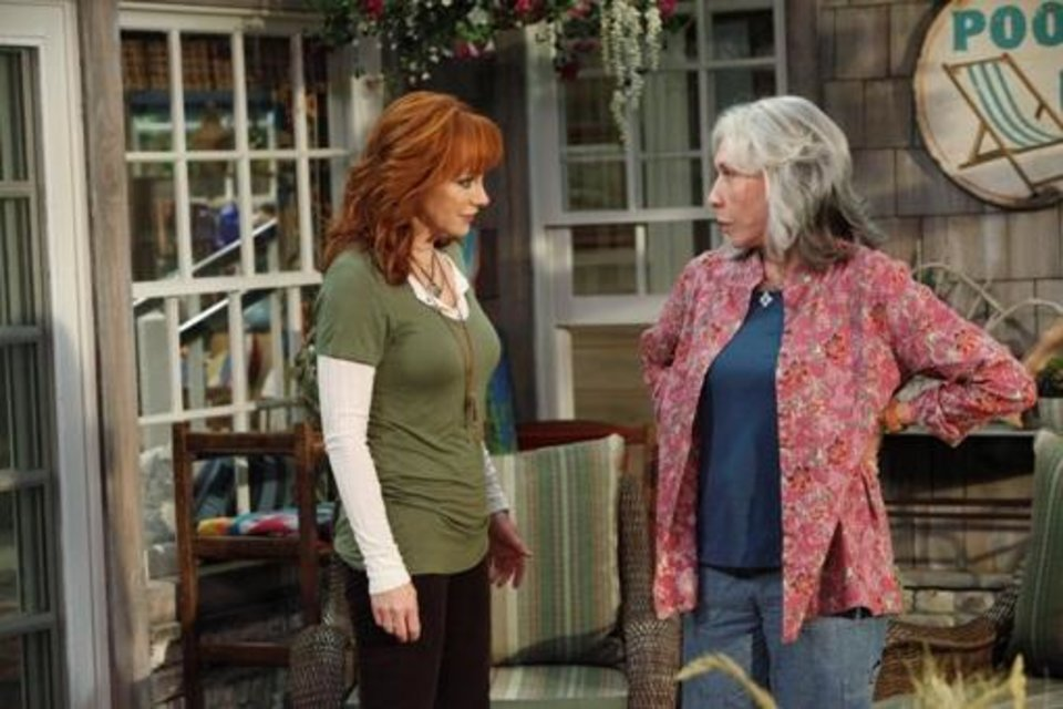 "From left, Oklahoma native Reba McEntire and Lily Tomlin star in the new sitcom ""Malibu Country,"" premiering at 7:30 p.m. Friday (today) on ABC. ABC photo."