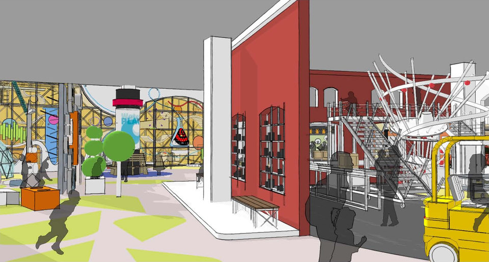 Photo - Plans for a children's hall at Science Museum Oklahoma include a so-called tinkering gallery. The gallery will be an area filled with building materials which students will be encouraged to use to build structures, vehicles, robots or anything else that comes to mind.