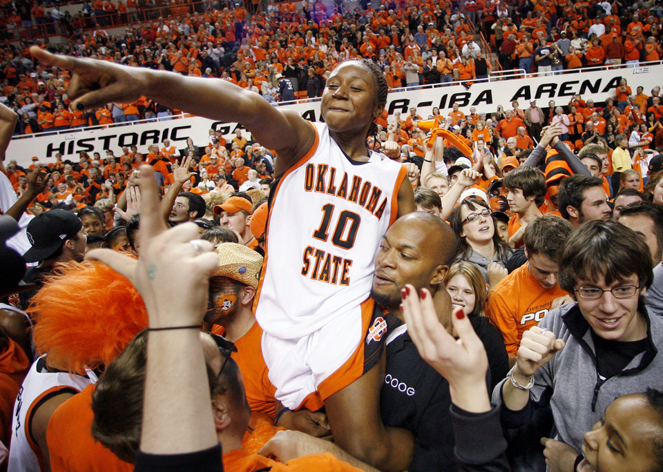 Oklahoma State women's basketball: Andrea Riley passing on ...