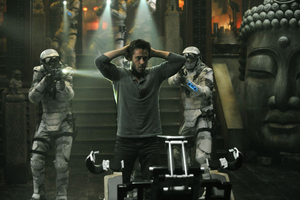 "Colin Farrell stars in Columbia Pictures' ""Total Recall."" <strong>Michael Gibson</strong>"