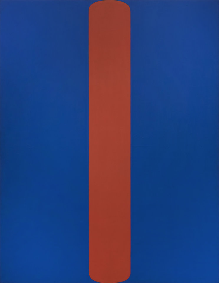 Photo -  Ellsworth Kelly's (American, 1923–2015) 1963 oil on canvas painting