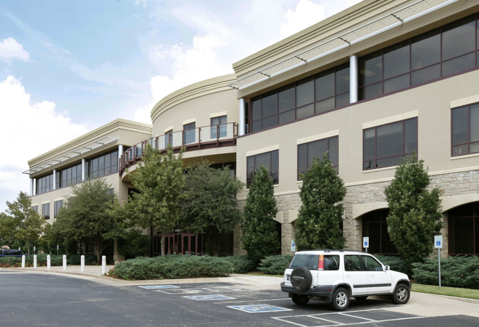 Photo - 4801 Gaillardia Parkway is among the Class A office buildings that are fully leased in Oklahoma City.  PAUL HELLSTERN - The Oklahoman
