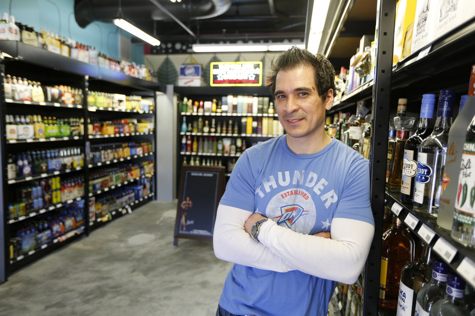Vice liquor store owner Art Rutledge in Oklahoma City, Tuesday March 5, 2013. Photo By Steve Gooch, The Oklahoman