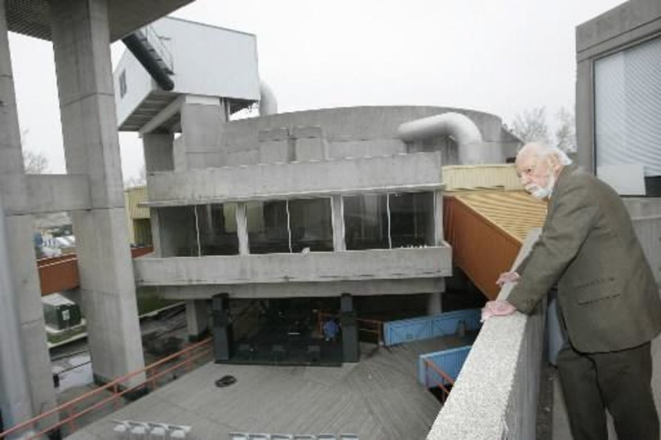 "When architect John Johansen last visited Stage Center in 2008, he said ""proof"" of a building is its use and its occupants. That very argument was used against the building as the Downtown Design Review Committee and then the Board of Adjustment both denied appeals to stop its demolition. Oklahoman Archives Photo  <strong> -  Oklahoman archives </strong>"
