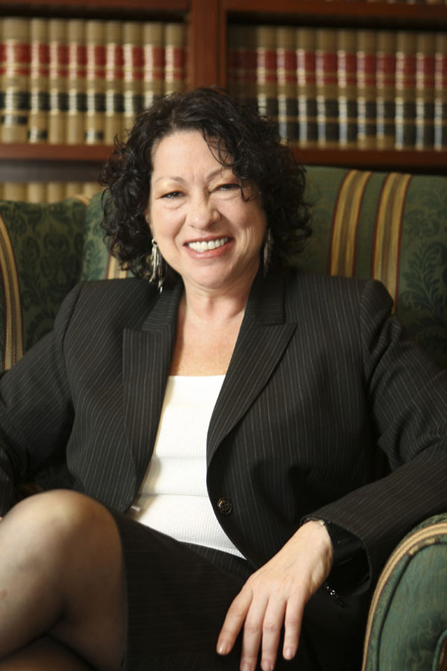 Photo - This undated handout photo provided by the White House shows Sonia Sotomayor in 2009. Earlier this week, President Barack Obama nominated Sotomayor to the Supreme Court to replace the retiring Justice David Souter. (AP Photo/White House) ORG XMIT: WX211
