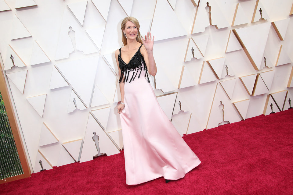 Photo - Feb 9, 2020; Los Angeles, CA, USA;  Laura Dern arrives at the 92nd Academy Awards at Dolby Theatre. Mandatory Credit: Dan MacMedan-USA TODAY