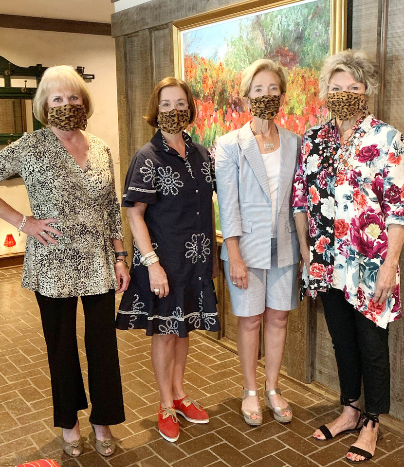 Photo - Lori Hill, Beverly Funke, Alice Dahlgren, Dee Harris. PHOTO PROVIDED