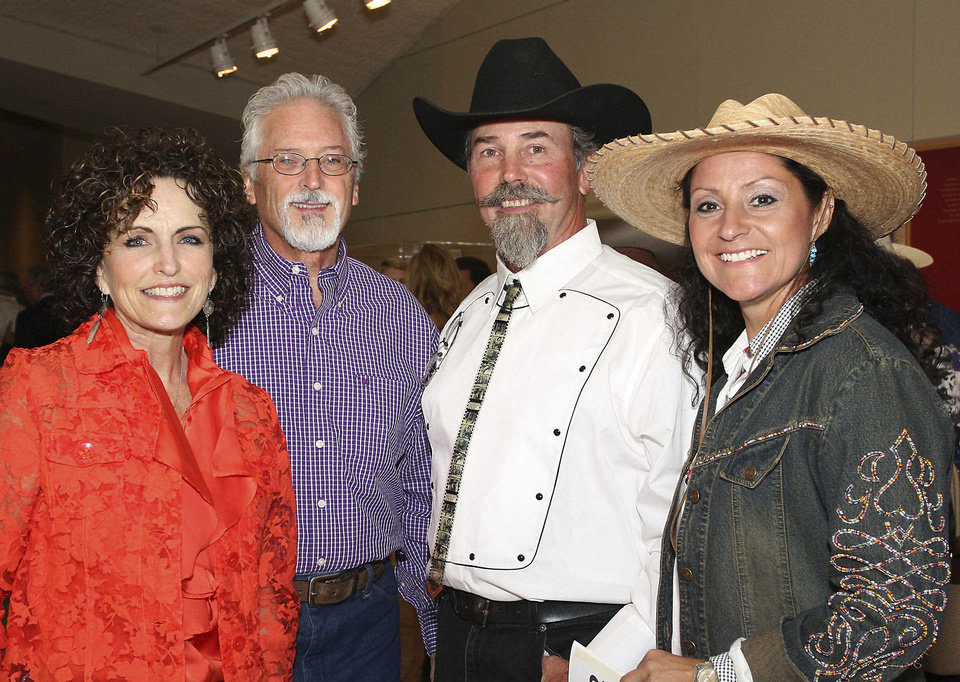 Photo - Debbie and Dave Greiner, Kent Shelton, Rosella Gonzales.