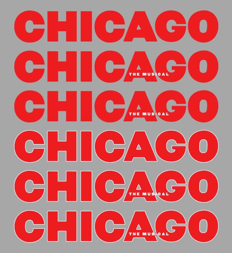 """The logo for """"Chicago: The Musical."""" Photo provided. <strong></strong>"""