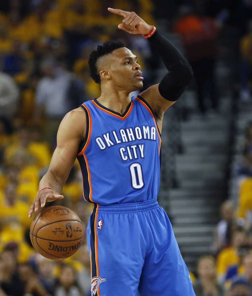 Thunder: Westbrook wows in 3rd quarter to lead Thunder over Warriors in Game 1 | News OK
