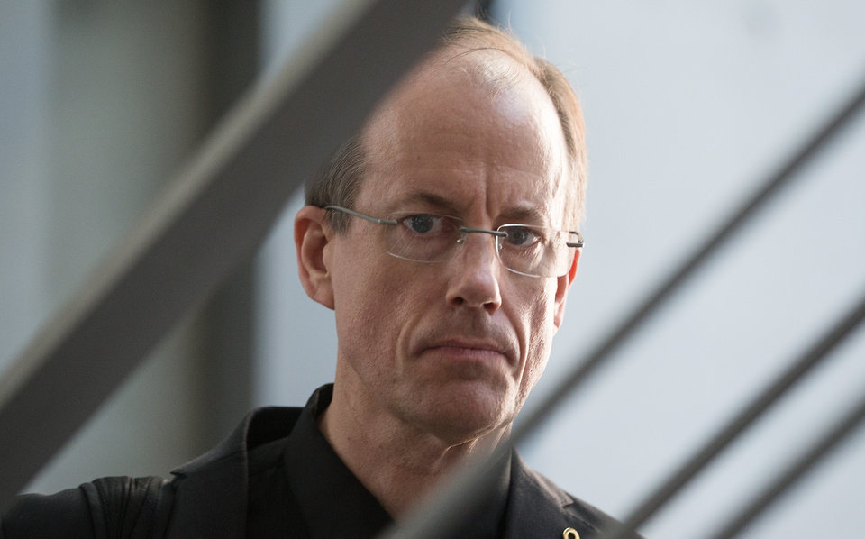 Photo - In this picture taken Thursday evening July 3, 2014, former NSA employee Thomas Drake arrives at the parliamentary NSAinvestigation committee   in Berlin, Germany,  German lawmakers began hearing expert testimony for a probe into the activities of foreign intelligence agencies in Germany. The inquiry was sparked by reports based on documents leaked by former NSA contractor Edward Snowden, which showed that German citizens, including Chancellor Angela Merkel, were targeted by U.S. intelligence.   (AP Photo/dpa,Hannibal Hanschke)