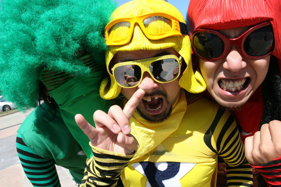New York-based Japanese rockers Peelander-Z. PHOTO PROVIDED <strong></strong>