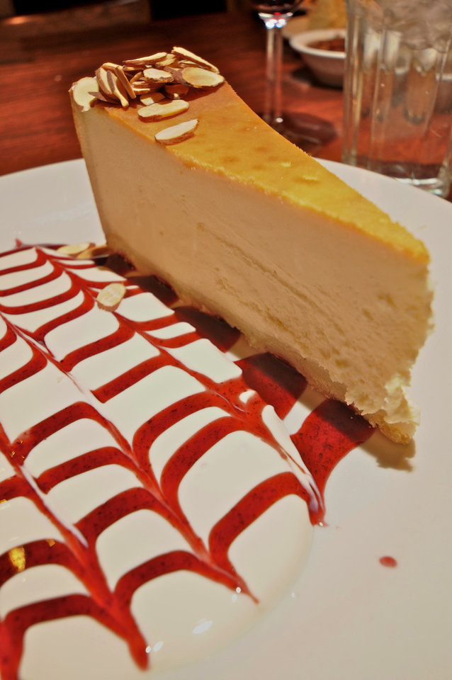 Carnegie Deli's Famous Cheesecake, Photo by Ben Pendleton
