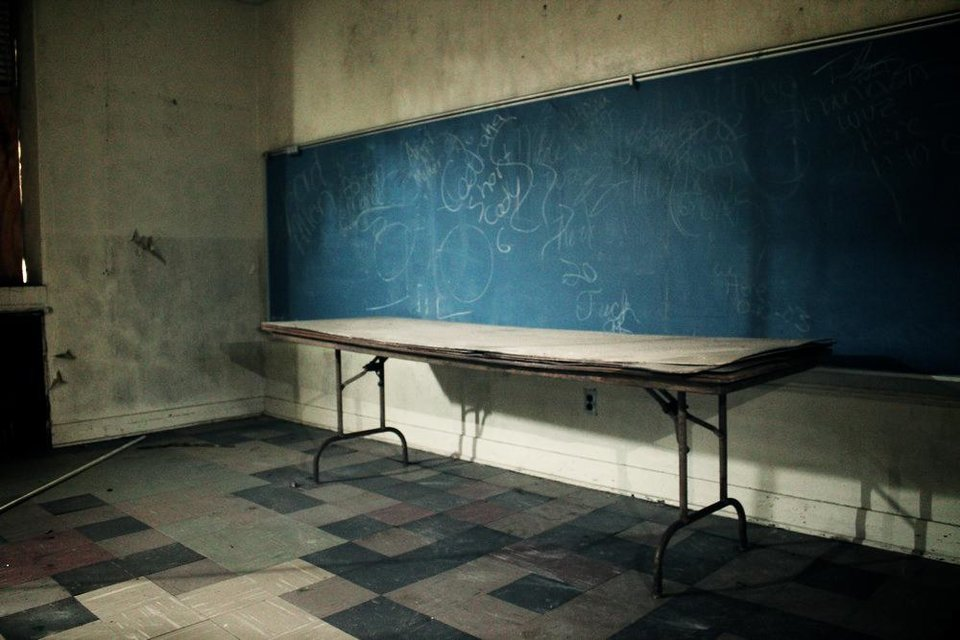 Photo - Washington School of Shawnee. Photo by Abandoned Oklahoma